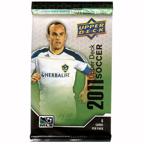 Mls Soccer 2011 Upper Deck Mls Trading Card Pack Retail Edition Target