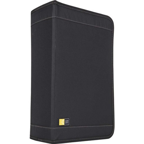 Case Logic CDW-128T 136 CD Wallet, Black - image 1 of 4