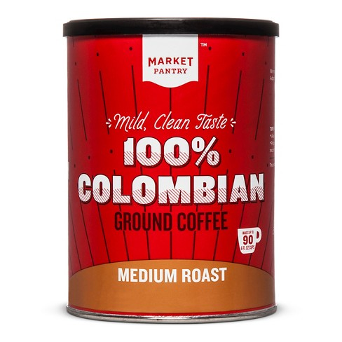 Columbian Medium Roast Ground Coffee - 10.3oz - Market Pantry™ - image 1 of 2
