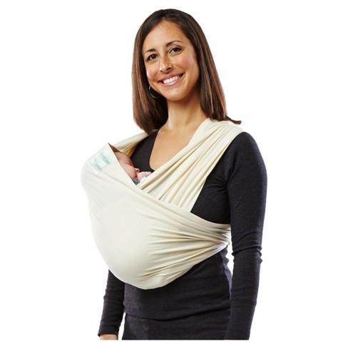 Baby K Tan Organic Wrap Baby Carrier Natural Target