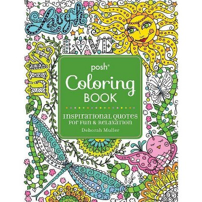 Inspirational Quotes Adult Coloring Book: For Fun & Relaxation : Target
