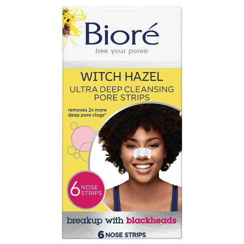 Biore Deep Cleansing Pore Nose Strips - 6ct - image 1 of 4