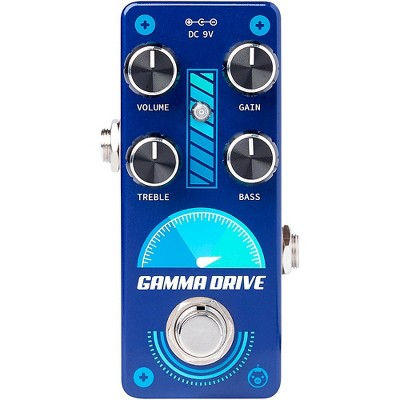 Pigtronix Gamma Drive Overdrive Effects Pedal Blue