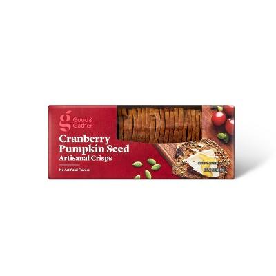 Cranberry Pumpkin Seed Cracker Crisp - 5.3oz - Good & Gather™