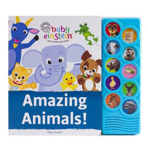 Baby Einstein - Amazing Animals!  Listen and Learn 10-Button Sound Board Book - image 1 of 4