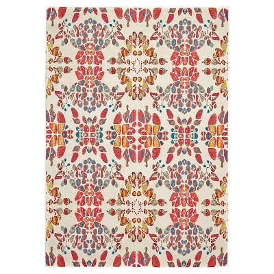 """2'2""""x4' Geometric Woven Accent Rugs - Weave & Wander"""