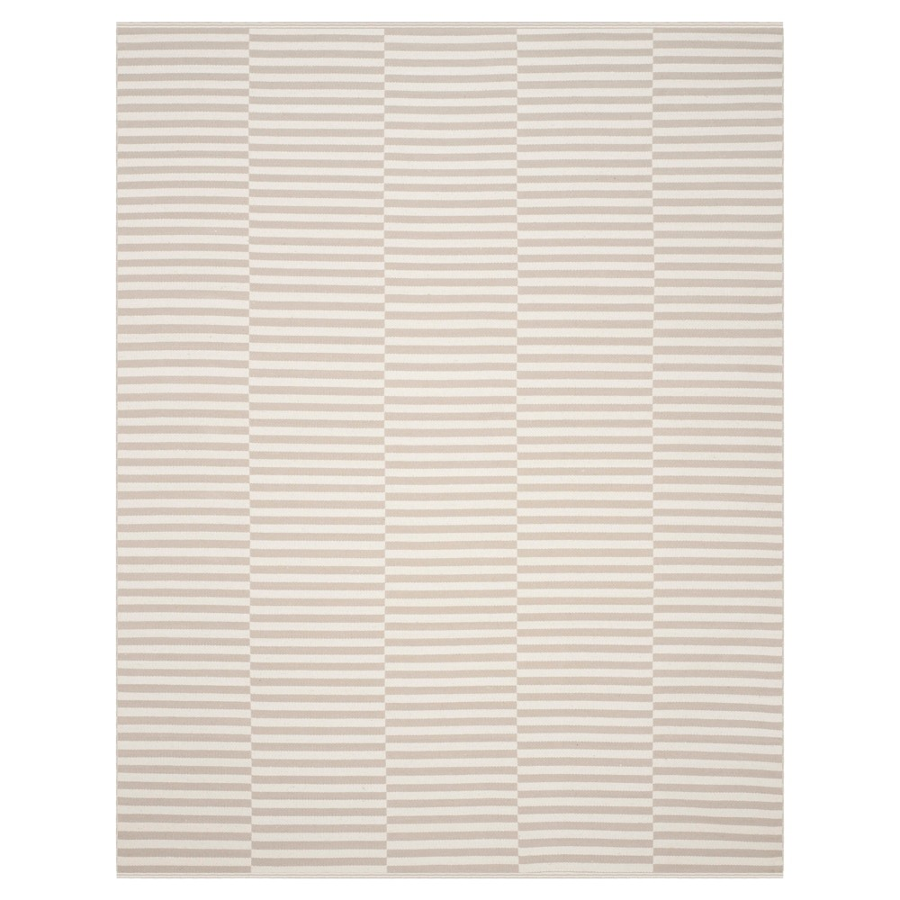Juliette Flatweave Area Rug - Ivory / Light Gray (Ivory/Light Gray) (8' X 10') - Safavieh