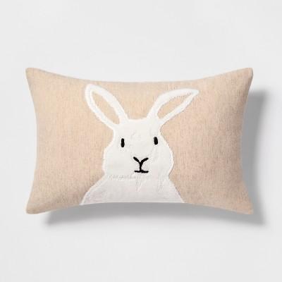 Bunny Lumbar Throw Pillow - Threshold™