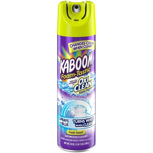 Kaboom with OxiClean Foam Tastic  Bathroom Cleaner Fresh Scent 19 oz - image 1 of 4