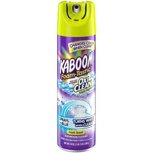 Kaboom With OxiClean Foam Tastic Bathroom Cleaner Fresh Scent 19 Oz