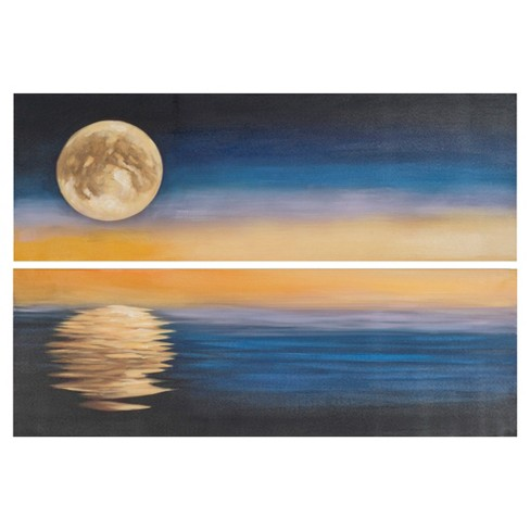 Moonscape Diptych Wall Art - Safavieh® - image 1 of 2