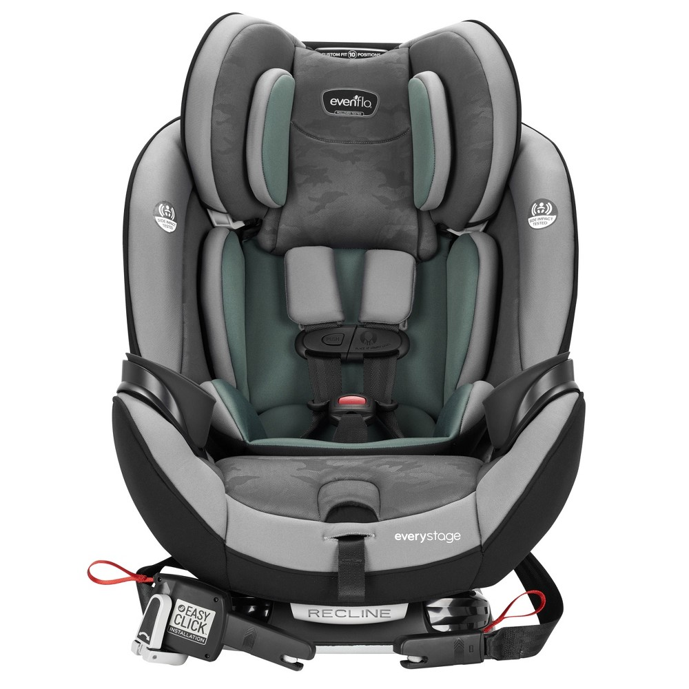 Image of Evenflo EveryStage DLX 3-in-1 Convertible Car Seat - Highlands