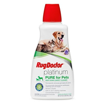 Rug Doctor Platinum Pure Pet Stain Remover 52oz