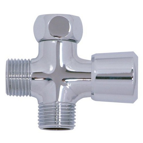 Shower Arm Diverter To Add Hand Held Chrome - Kingston Brass - image 1 of 1
