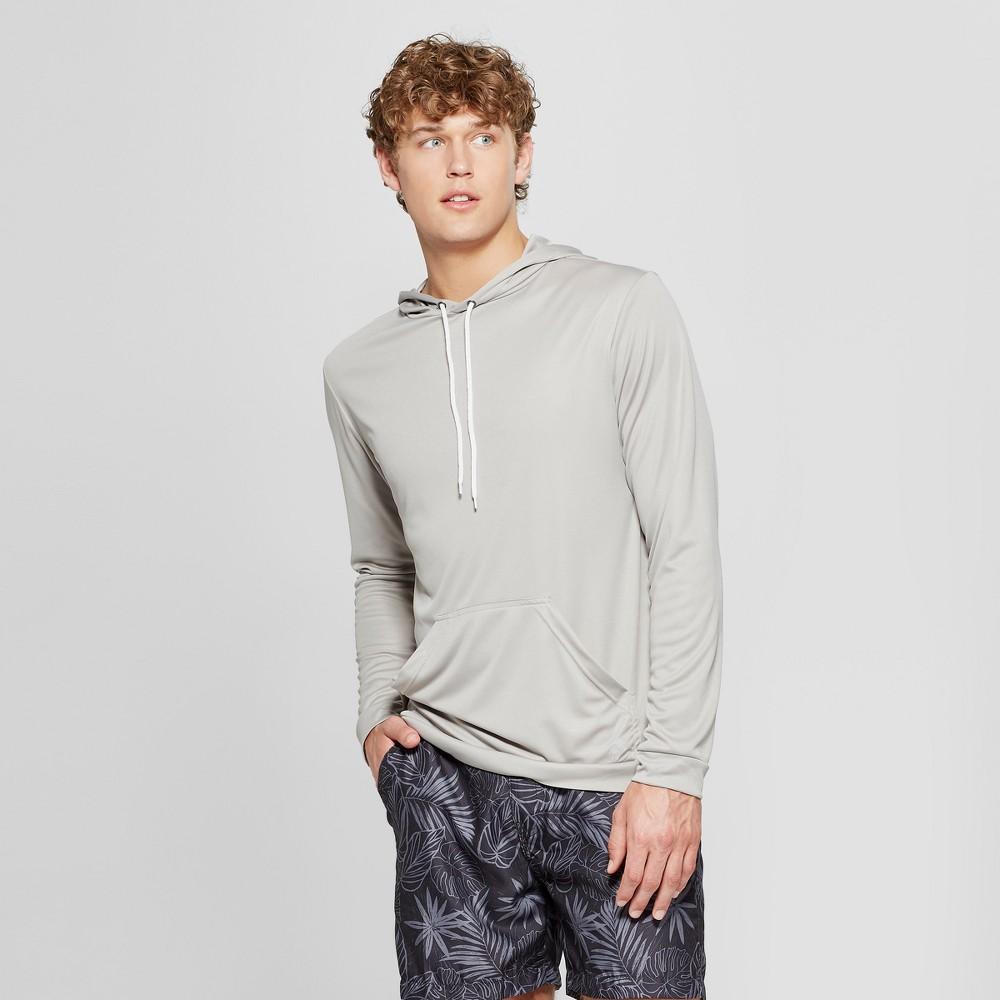 Men's Trunks Surf & Swim Co Swim Hoodie Swim Shorts - Frost Grey L
