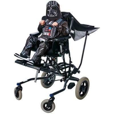 Kids' Adaptive Star Wars Darth Vader Halloween Costume Jumpsuit with Mask