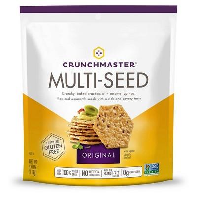 Crunchmaster Multi-Seed Original Crackers 4oz