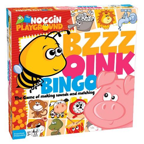 Bzzz Oink Bingo Game - image 1 of 1