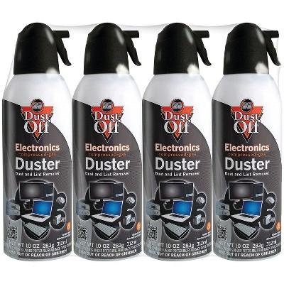 Dust Off 10oz Electronics Dusters 4 pk FLCNDPSXL4A