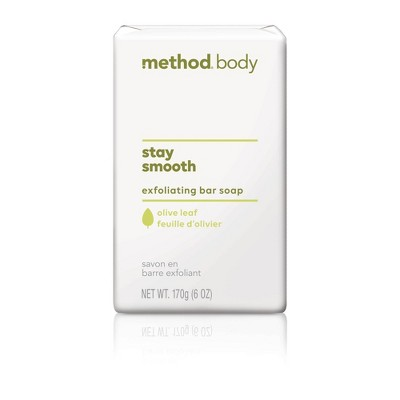 Method Exfoliating Bar Soap Olive Leaf - 6oz