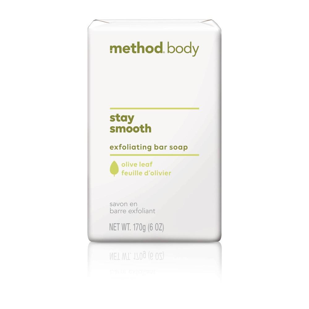 Image of Method Exfoliating Bar Soap Olive Leaf - 6oz