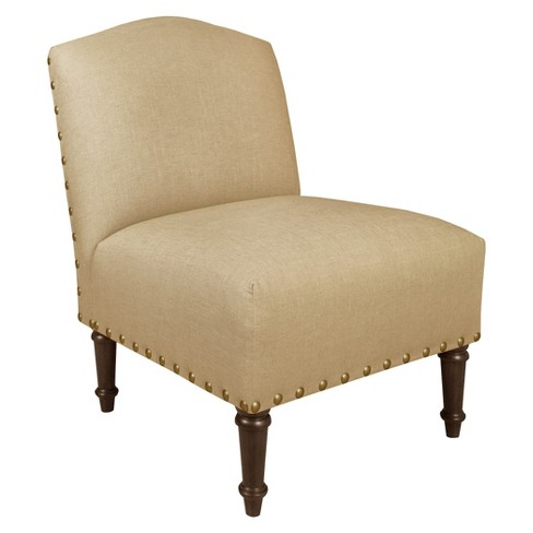 Nail Button Camel Back Chair - Skyline Furniture® - image 1 of 2
