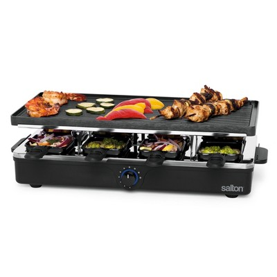 Salton 8 person Indoor Party Grill - Black