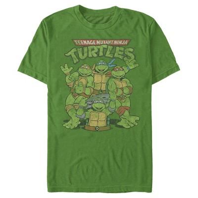 Men's Teenage Mutant Ninja Turtles Best Friend Shot T-Shirt