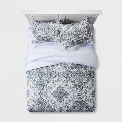 Paisley Medallion Comforter Set (Full/Queen)- Threshold™