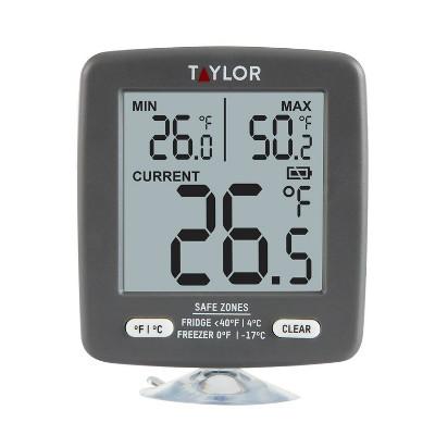 Taylor Digital Freezer/Refrigerator Thermometer