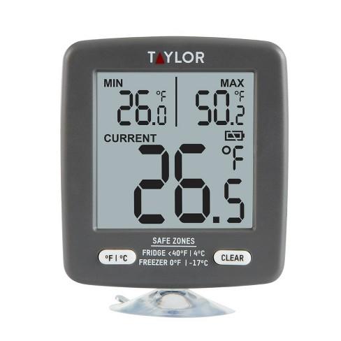 Taylor Digital Freezer/Refrigerator Thermometer - image 1 of 4