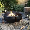 Galvanized Iron Pillar Candle Lantern Black - Hearth & Hand™ with Magnolia - image 4 of 4