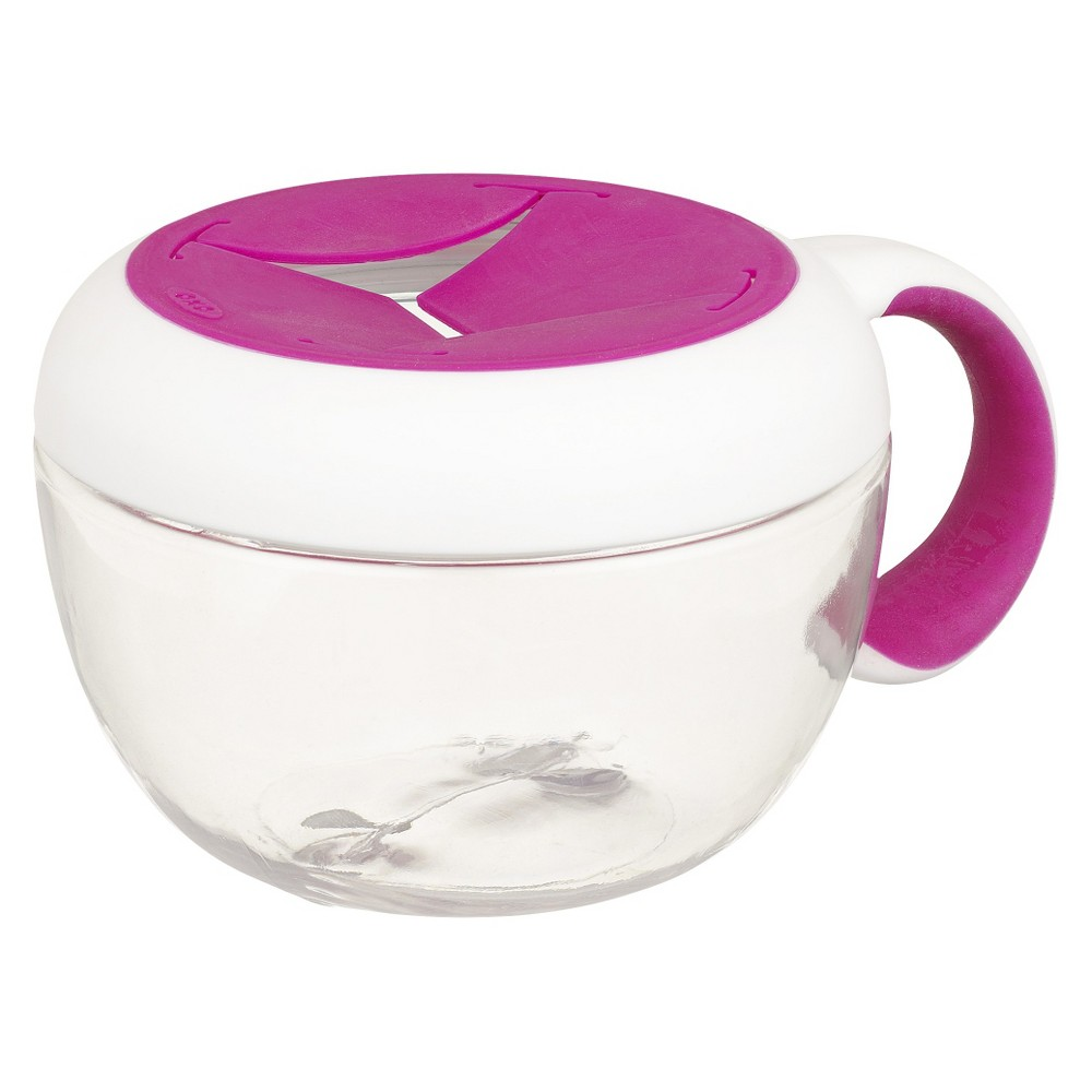 Image of OXO Tot Flippy Snack Cup with Travel Cov, Pink