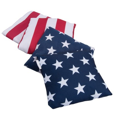 Wemco™ Americana Bag Bean Bag Toss - Red White & Blue 4ct
