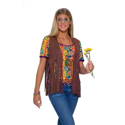 Forum Novelties Women's Hippie Vest Costume
