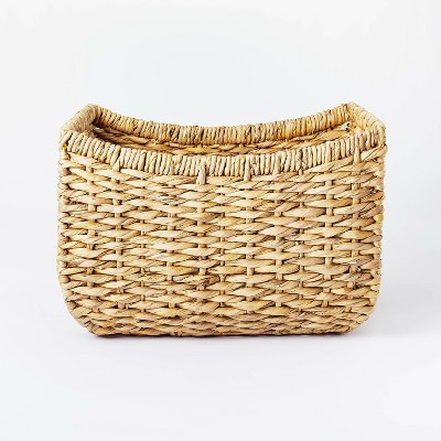 """17"""" x 15"""" Chunky Woven Basket Natural - Threshold™ designed with Studio McGee"""