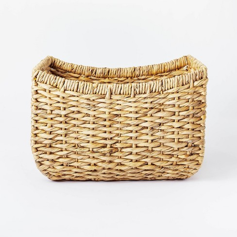 """17"""" x 15"""" Chunky Woven Basket Natural - Threshold™ designed with Studio McGee - image 1 of 4"""