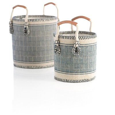 Assorted Set Of 2 Sierra Planter Baskets - Shiraleah