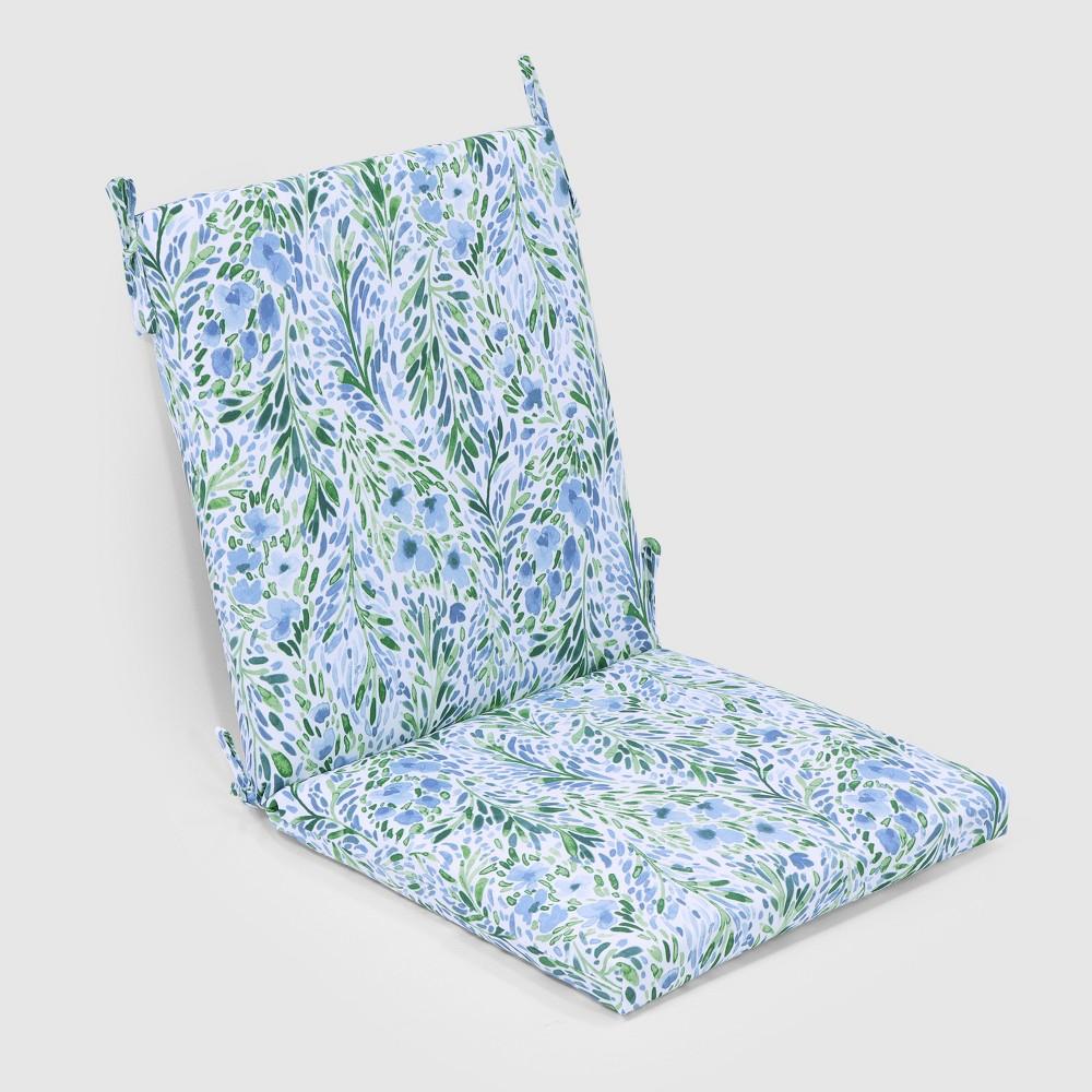 Surprising Sammamish Floral Outdoor Chair Cushion Threshold Uwap Interior Chair Design Uwaporg