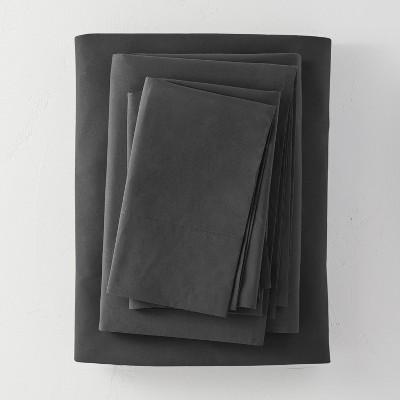 Washed Supima Percale Solid Sheet Set - Casaluna™