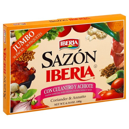 Sazon Iberia with Coriander & Annatto - 6.34oz - image 1 of 2