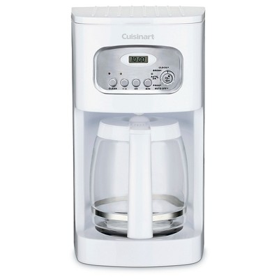 Cuisinart 12 Cup Programmable Coffee Maker - White DCC-1100