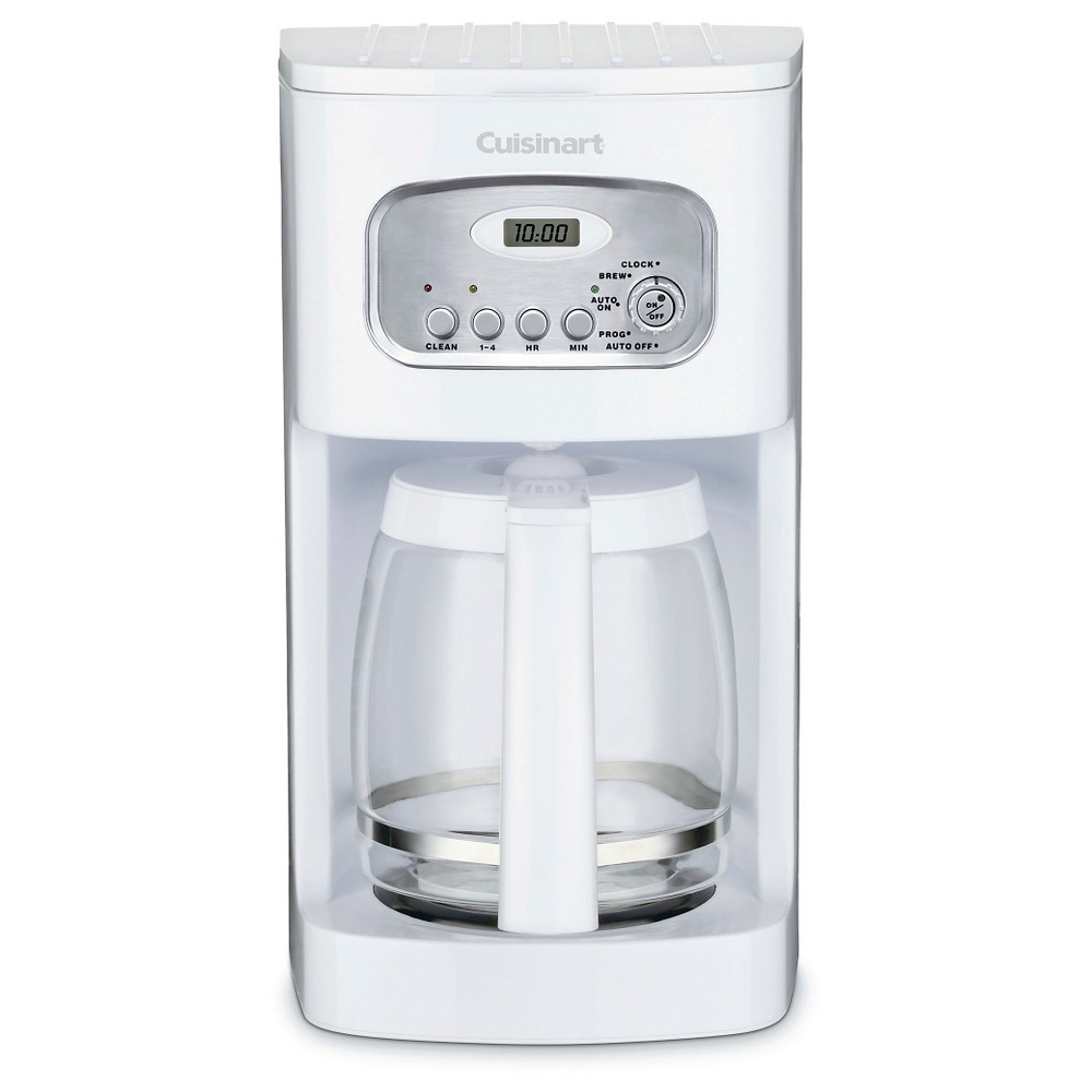 Cuisinart 12 Cup Programmable Coffee Maker – White Dcc-1100 21398011