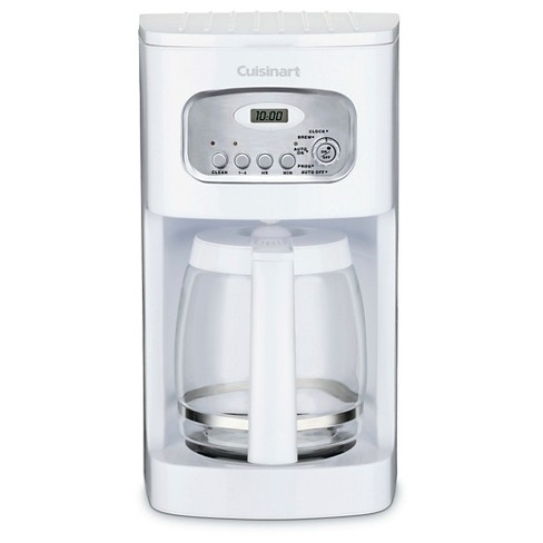 Cuisinart 12 Cup Programmable Coffee Maker - White DCC-1100 - image 1 of 4