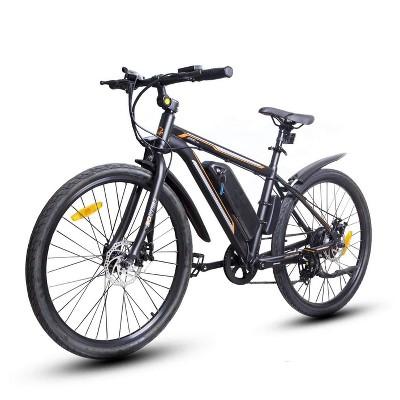 "Ecotric Vortex 26"" Electric Road Bike - Matte Black"