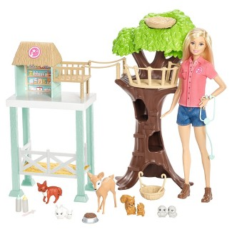 Barbie® Careers Animal Rescue Doll and Playset