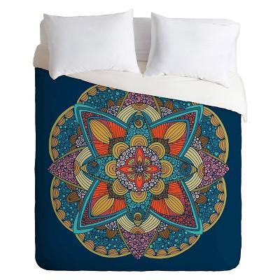 Valentina Ramos Tulip Duvet King Blue - Deny Designs®
