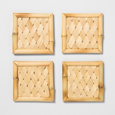 4pk Bamboo Coaster Set - Opalhouse™
