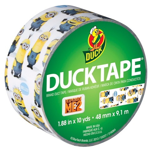 Minions Duck Tape® Brand Duct Tape, 1.88 in. x 10 yd. - image 1 of 1