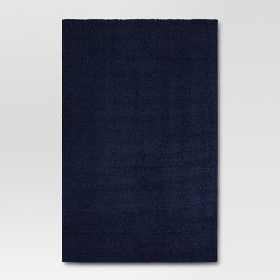 6'6 x10' Solid Tufted Area Rugs Navy - Project 62™